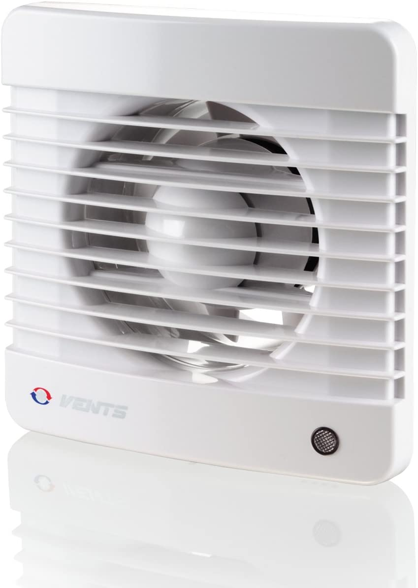 Vents 100 Silenta M K 100 mm ventilador silencioso de un extractor de baño – color blanco brillante