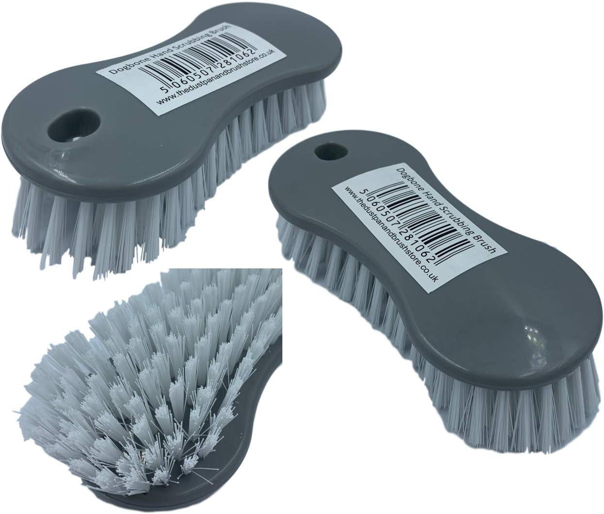 Vaisselle plat brosse de nettoyage brosses set de 3 violet blanc soft grip poignée