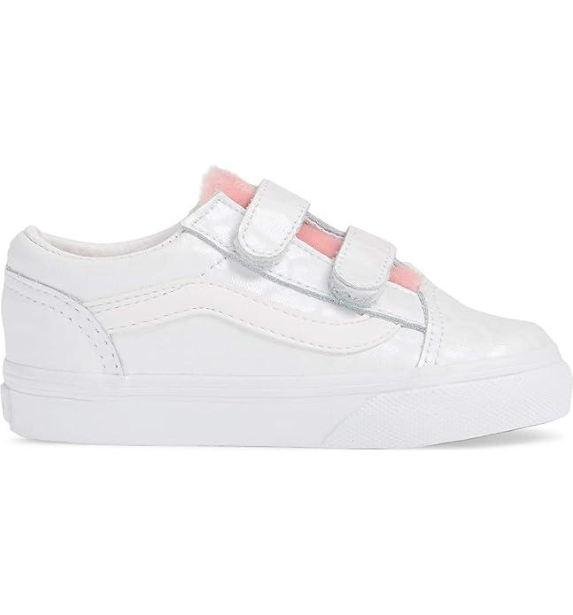 Vans Old Skool Unisex Sneakers Unisex Weiß Rosa