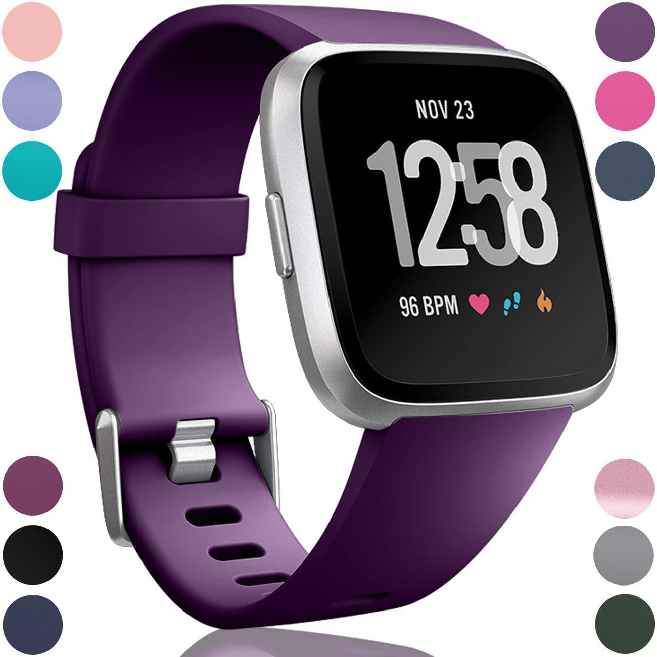 Malla para reloj Fitbit Versa, Lite SE, Versa 2 (violeta)