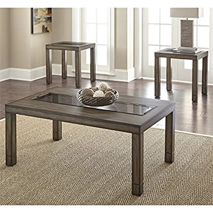 3 Piece Glass Top Coffee Table Sets.Amazon Com Steve Silver Normandy 3 Piece Glass Top Coffee Table Set