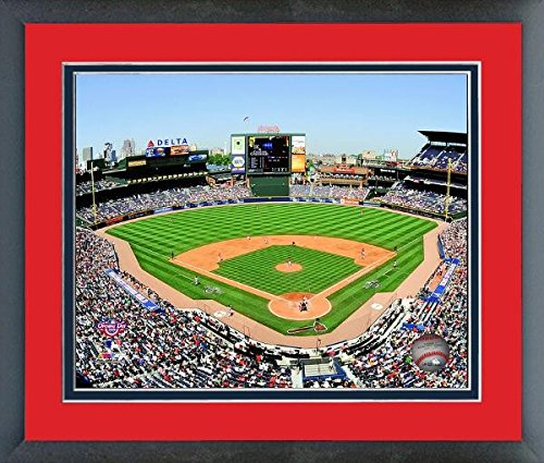 Atlanta Braves Turner Field MLB Stadium Photo (Size: 26.5