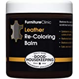 Furniture Clinic Leather Recoloring Balm – Renew, Restore & Repair Color to Faded and Scratched Leather | 21 Color…