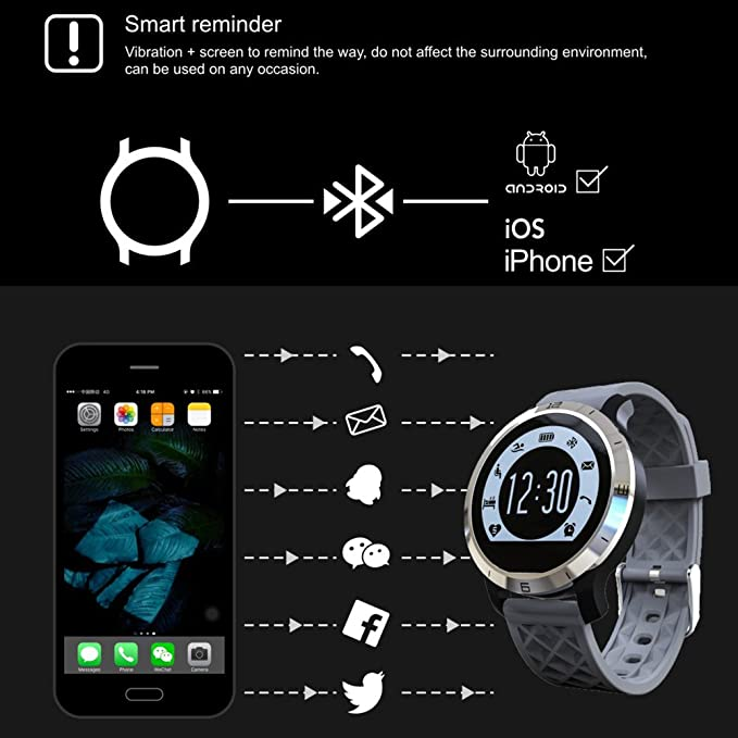 Smartwatch Demiawaking Reloj Inteligente F69 Deportes Smart ...