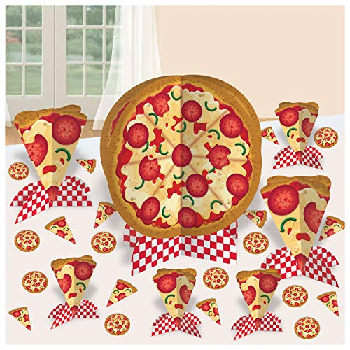 Amscan Pizza Party Table Decorating Kit (1)]()