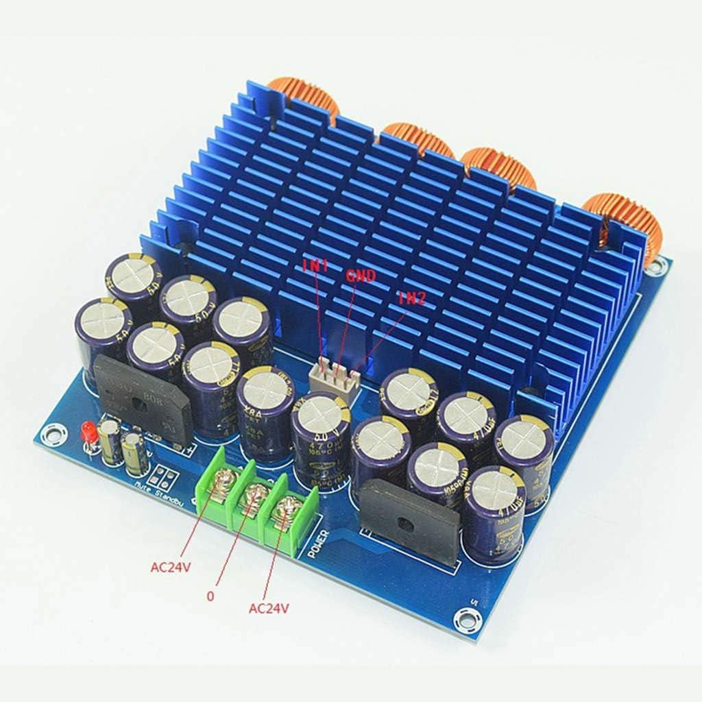 Iycorish Tablero del Amplificador De Potencia De Alta Fidelidad Digital De Alta Fidelidad Tda8954 420W 420W 2.0 Clase D Tablero del Amplificador De Potencia