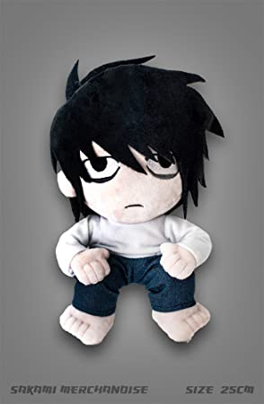 Unbekannt Death Note – L – Figura de Peluche (25 cm) – Original &