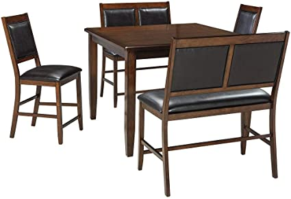 dd94e2ceba5125 Image Unavailable. Image not available for. Color: Ashley Furniture  Signature Design - Meredy Counter Height Dining Room Table and Bar Stools  ...