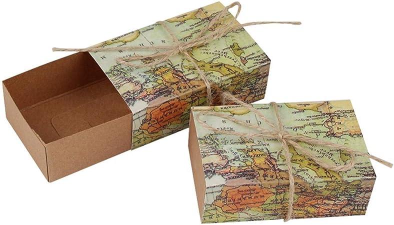 JONARO - Caja de Dulces de Viaje, 10 Unidades, para decoración de ...