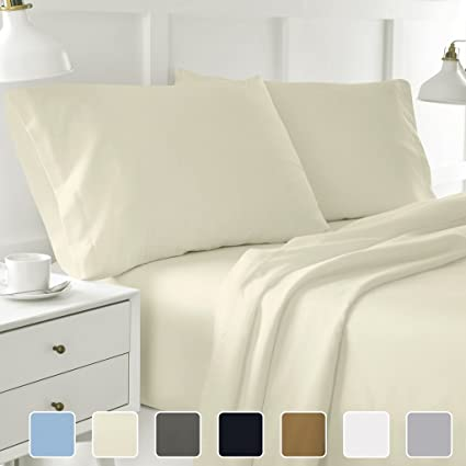Cottington Lane TWIN XL SHEETS SOFT 100 PERCENT COTTON  Sheet Set For Twin  XL Bed