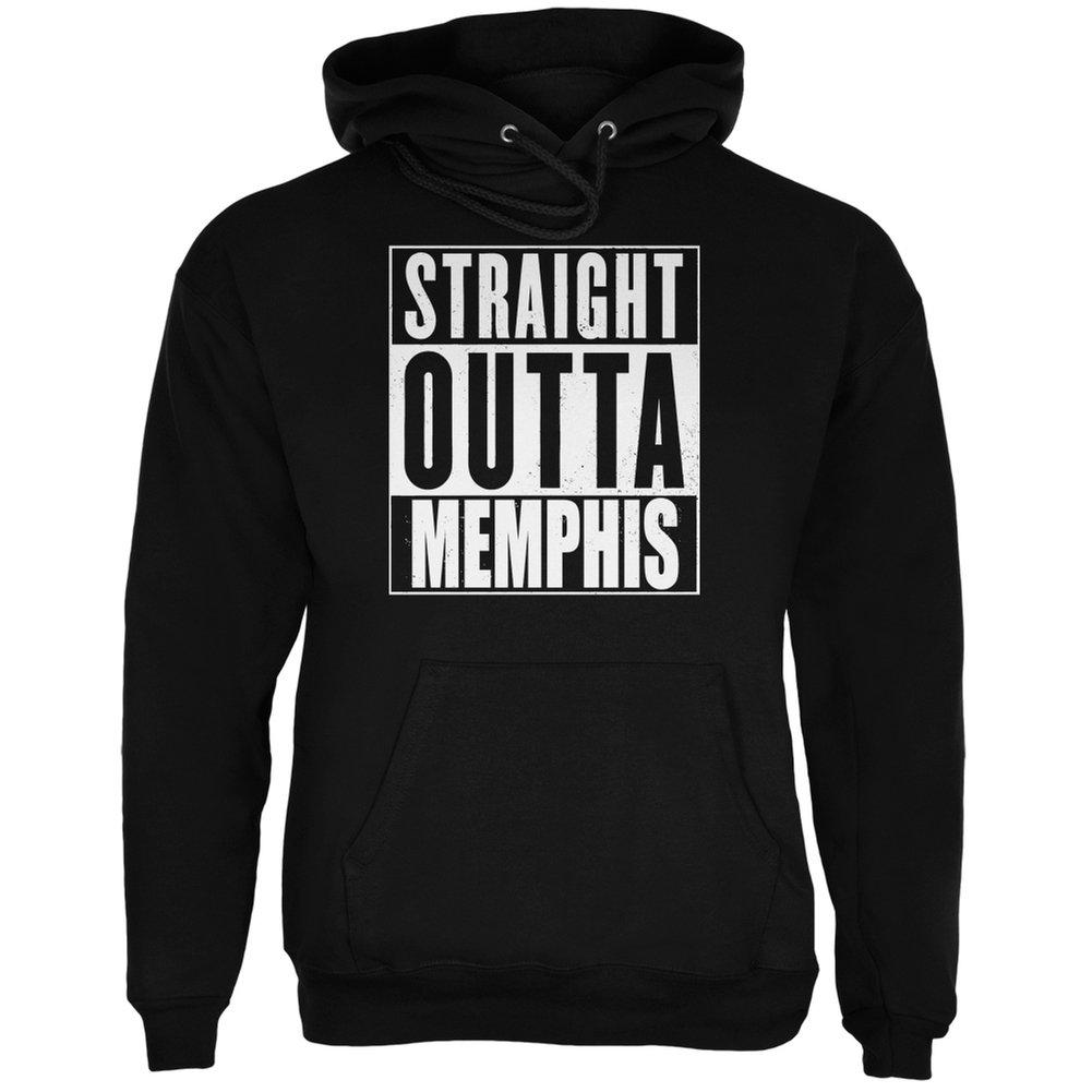 Straight Outta Memphis Black Adult Shirts