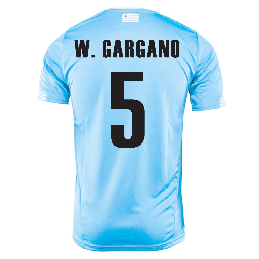 PUMA W. GARGANO #5 URUGUAY HOME JERSEY WORLD CUP 2014/サッカーユニフォーム ウルグアイ ホーム用 ワールドカップ2014 背番号5 ワルテルガルガーノ B00K6RAYCG M