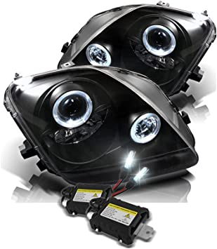 1997 honda prelude wiring diagram amazon com led halo headlights for honda prelude 97 01 black  led halo headlights for honda prelude
