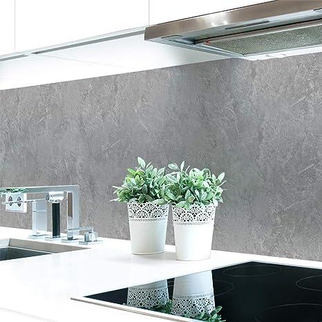 Decorazione per parete della cucina effetto muro di pietra scuro, in  resistente PVC premium, 0,4 mm, autoadesiva, da applicare direttamente  sulle ...