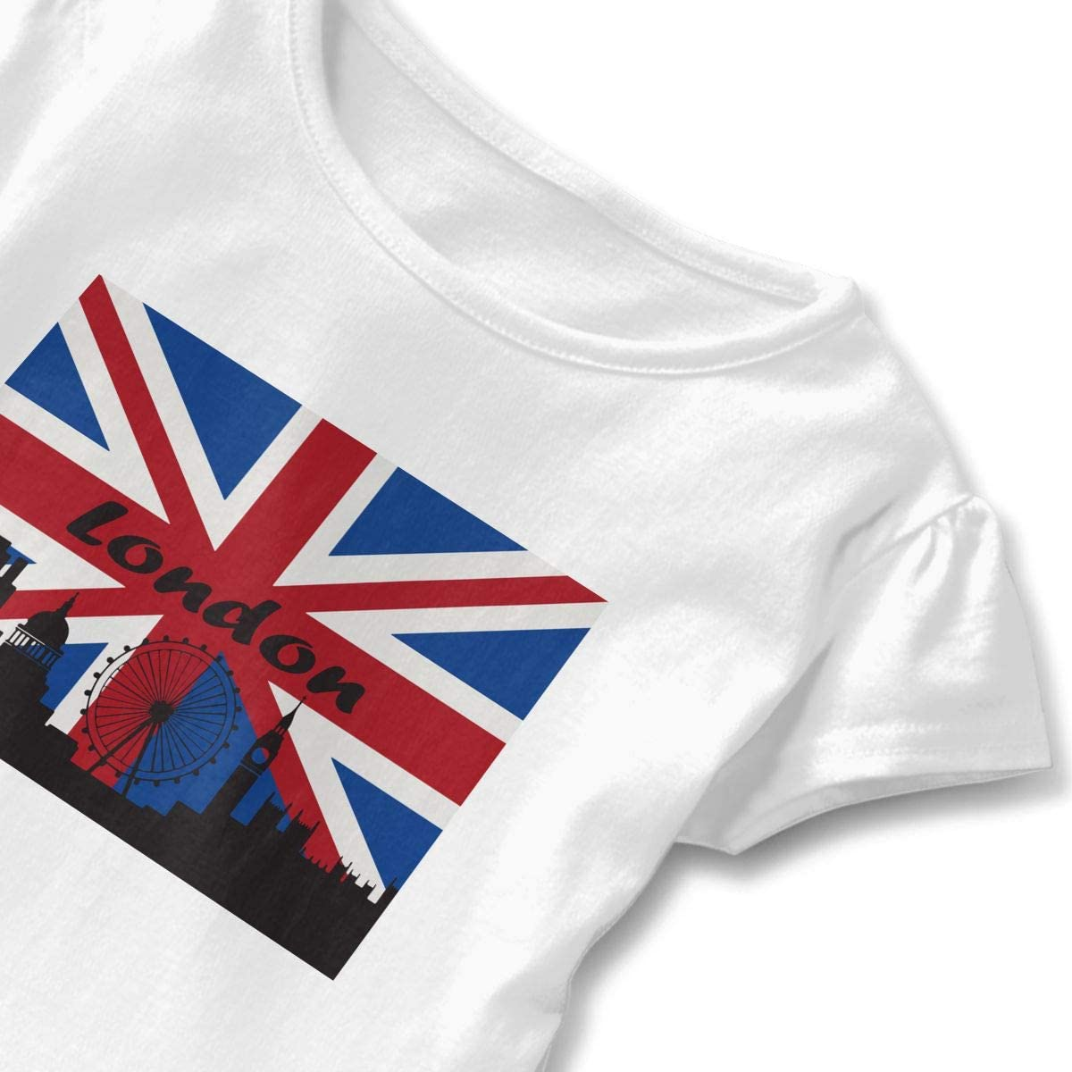 SC/_VD08 English Bulldog Kids Children Short Sleeve Tshirts Clothes