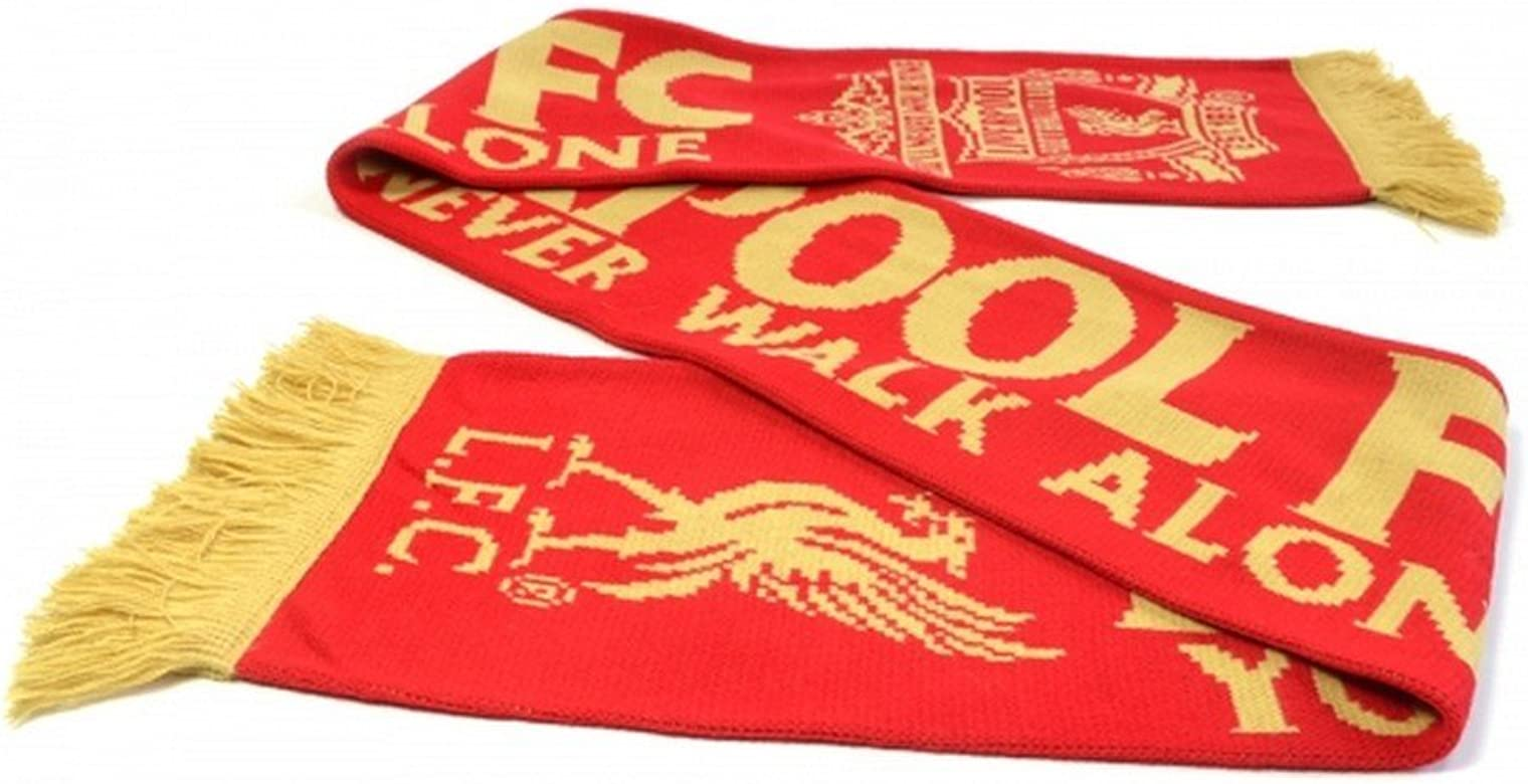 Liverpool FC Official YNWA Knitted Scarf