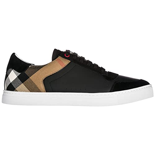 Burberry Sneakers Reeth Low Uomo Black  Amazon.it  Scarpe e borse 9df64e7c6ef