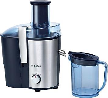 Bosch MES3000GB - Exprimidor (Exprimidor, Azul, Plata, 2 L, 1,25 L, 7,3 cm, Acero inoxidable): Amazon.es: Hogar