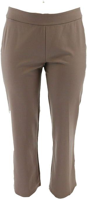 Linea By Louis Dell/'Olio Petite Whisper Knit Pants A257386 2X Nero