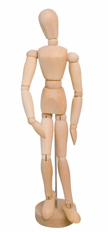 20 cm Solo Goya 4156 Manichino snodabile in legno modello femminile