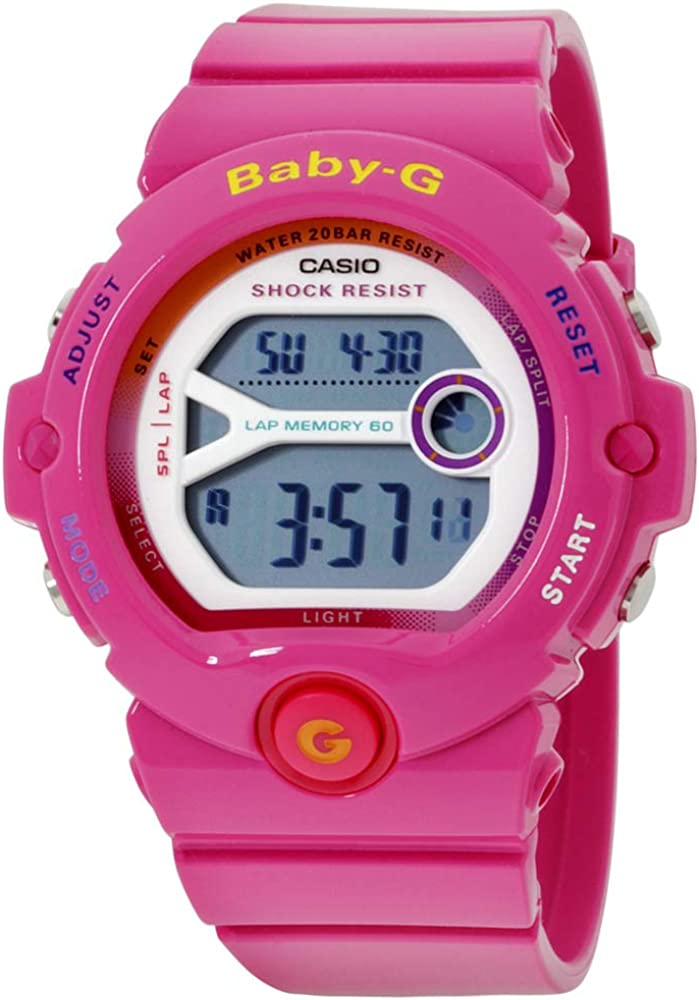 Casio Baby G Quartz Movement Digital Dial Ladies Watch BG6903-4B
