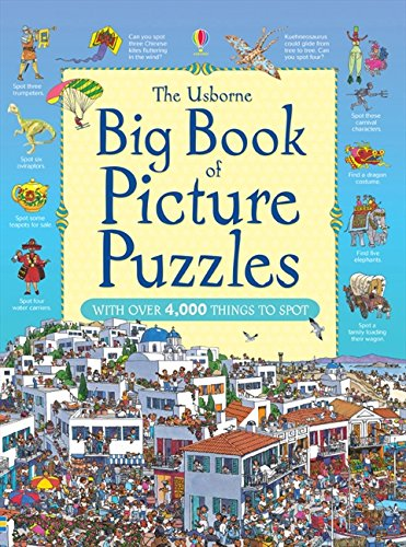 The Usborne Big Book of Picture Puzzles (Great Searches)