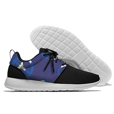 Peaceful Nicaragua Men Breathable Athletic Lightweight Running Shoes
