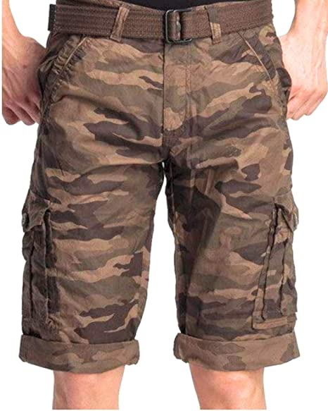 Verticals Army Print Cargo Capri for Men (armycapri1) Men at amazon