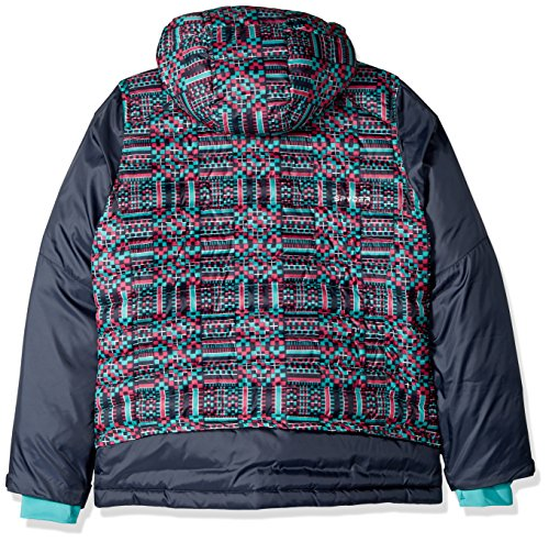 Frontier GEO Girl's Jacket Spyder Baltic Print Nora HISqwRwY
