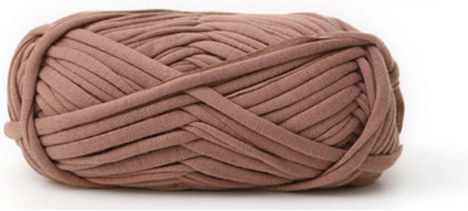 Hilo de lana de algodón tejido, 100 g, para tejer a mano, manta de ganchillo 24: Amazon.es: Hogar