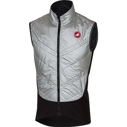 Amazon.com   Castelli Core Warmer Vest - Men s Silver 30aa2d50e