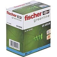 fischer Gipsplaatpluggen, GK GREEN, sterke gipsplaatpluggen van minstens 50% hernieuwbare grondstoffen, eenvoudige…