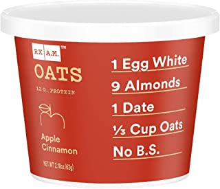 product image for RXBAR, Rx A.M. Oats, Apple Cinnamon, 12ct, 2.18oz Cups, 12 Gluten Free Oatmeal Cups