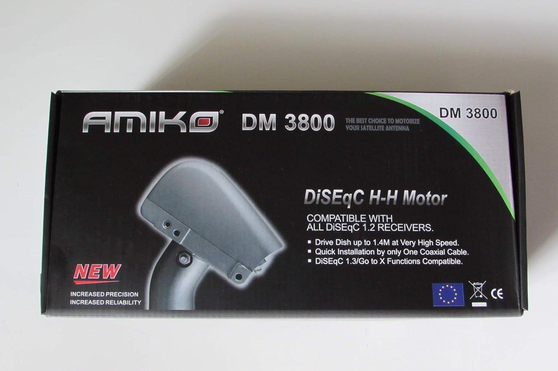 Motor para antena parabólica Amiko dm3800 DiSEqC 1.2