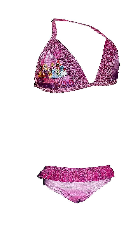 Disney Costume Bimba Due Pezzi Slip e trinagolo Principesse Art 11280