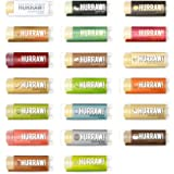 Hurraw Lip Balm, 100% Organic, Natural, .15oz/4.3g, 5-pack, Any 5 Scents (23 Scents to Choose)