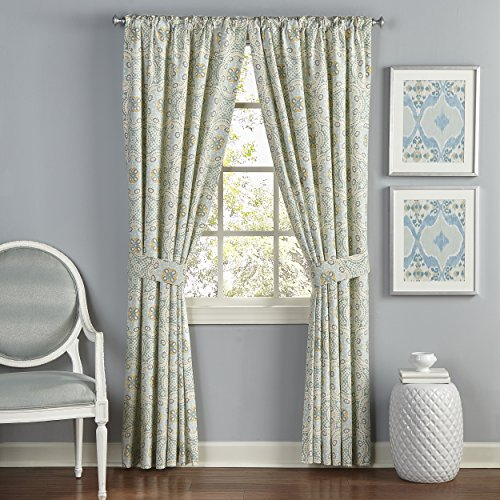 WAVERLY Curtain Drapes for Living Room - Astrid 84