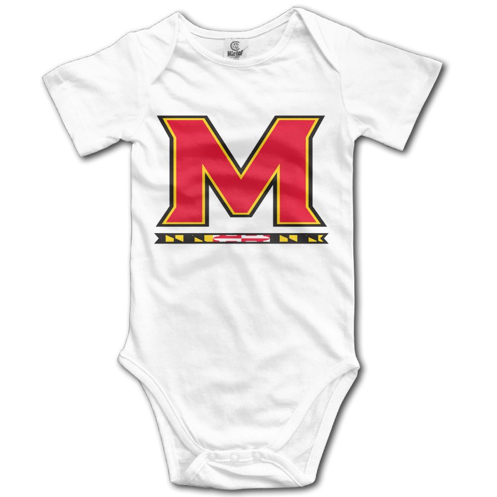a3ffa3ae9 Cotton Baby Maryland Terrapins University Of Maryland Romper Onesie  Jumpsuit Apparel