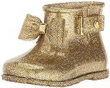Mini Melissa Sugar Rain Bow Mary Jane (Toddler), Gold Glitter, 9 Regular US Toddler
