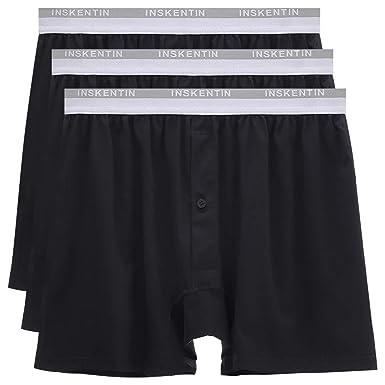 f130ae0ddc6861 Amazon.com: Inskentin Men's Cotton Stretch Loose-Fit Performance Boxer  Briefs Long Leg Shorts Underwear 3 Pack: Clothing