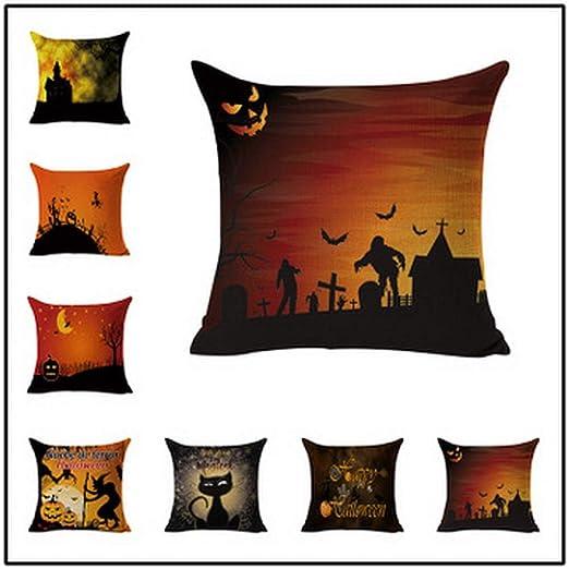 Almohada de decoración del hogar de Halloween, accesorios de ...