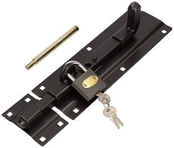 NEU Türriegel Riegel Schubriegel Türriegel stabil Torriegel Bolzenriegel 150mm