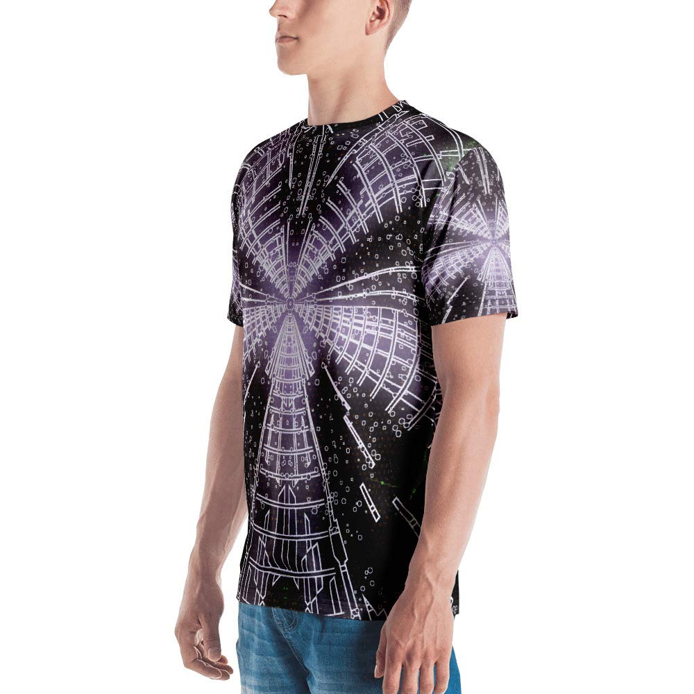 Jansky Adumbration Spellbound Clothing Mens T-Shirt Full Print Premium Knit 100/% Polyester Jersey