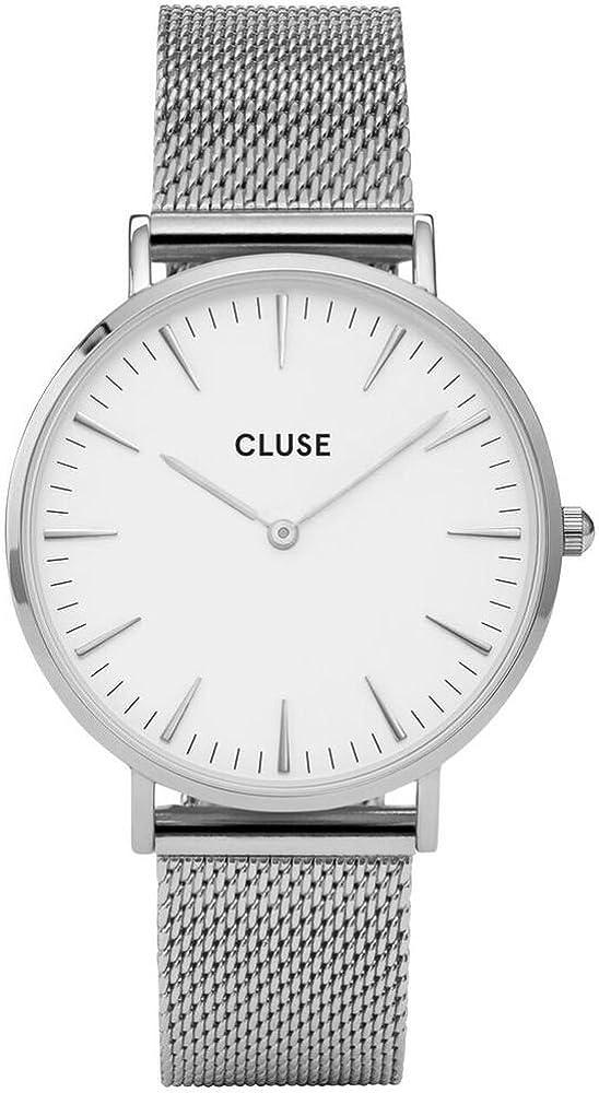 Cluse Reloj Analógico Automático para Mujer con Correa de Acero Inoxidable – CL18105