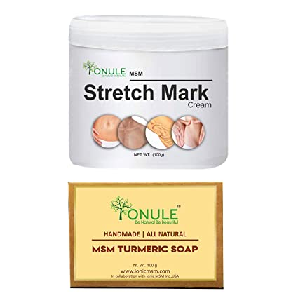 Buy Ionule Stretch Mark Cream With Turmeric Soap Online at