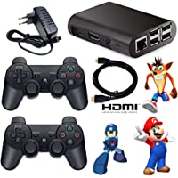 Console De Video Game Recalbox Multijogos Raspberry Pi3 10000 Games 2 Controles