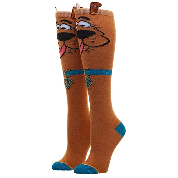 4dafbd26552 Image Unavailable. Image not available for. Color  Scooby Doo Knee High  Socks ...