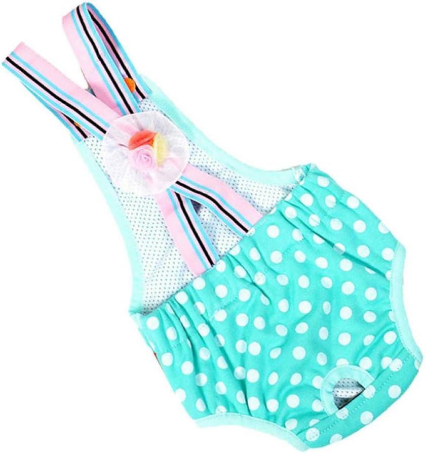 WYXlink High Quality Cute Pet Dog Panty Brief Bitch In Season Sanitary Pants For Girl Female Color Random 6#, Random