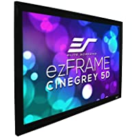 Elite Screens ezFrame Series, 150-inch Diagonal 16:9, Ambient Light Rejecting Fixed Frame Projection Screen, R150DHD5