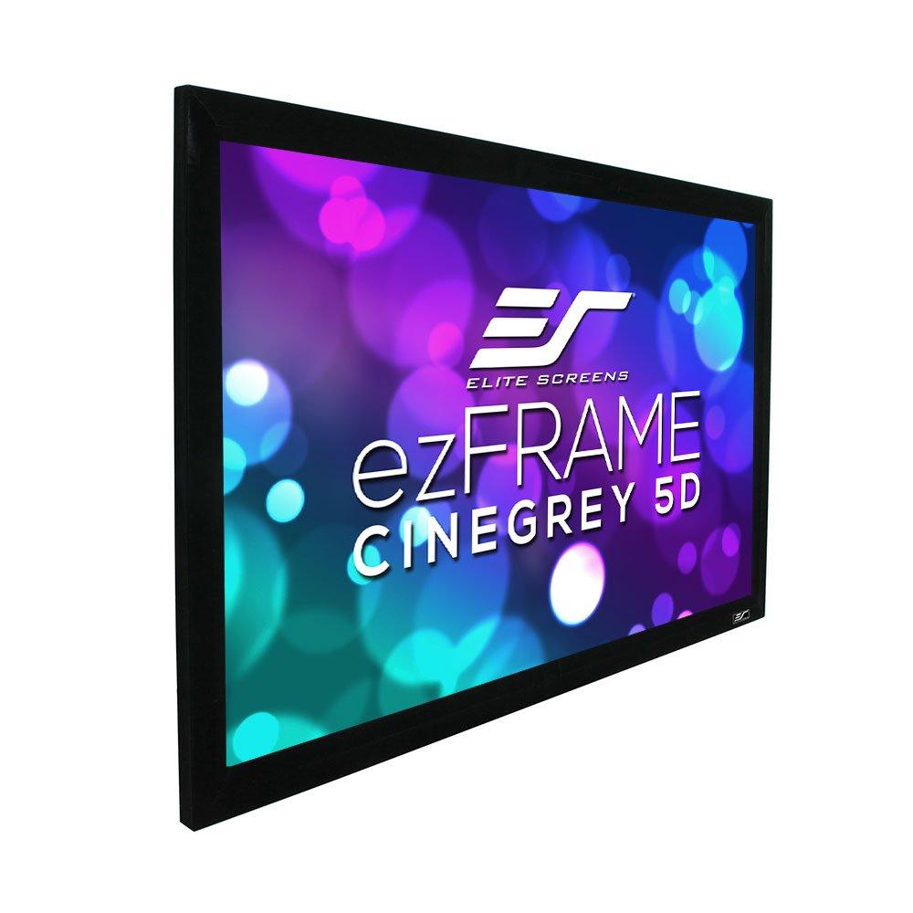 Elite Screens ezFrameシリーズ、84-inch対角4 : 3、固定フレームホームシアター投影プロジェクタースクリーン、モデル:r84wv1 16:9, 92-inch R92DHD5 B00NX4WJ86  16:9, 92-inch